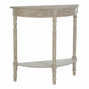 croix half moon winter melody console table