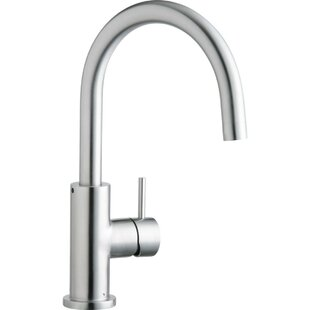 Allure Single Handle Kitchen Faucet with Lever and Side Spray