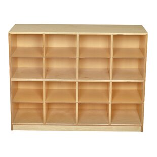 16 Compartment Cubby with Casters By Childcraft
