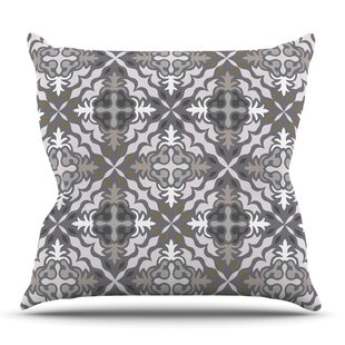 Let It Snow By Miranda Mol Outdoor Throw Pillow by East Urban Home