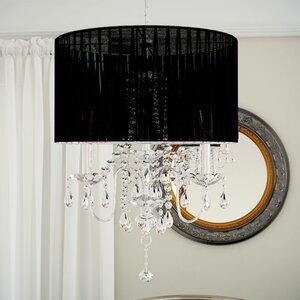 Red chandeliers wayfair warwick 4 light chandelier aloadofball Images