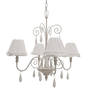 Mauricie Wood Ceiling 4 Light Mini Chandelier