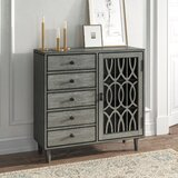 Adelina 1 Door Accent Cabinet by Kelly Clarkson Home