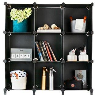 Sibert Plastic Cube Bookcase by Rebrilliant
