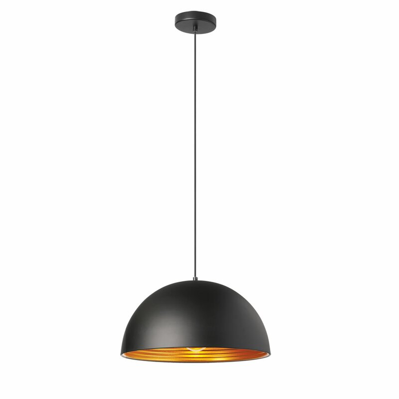 Redford 1-Light Bowl Pendant