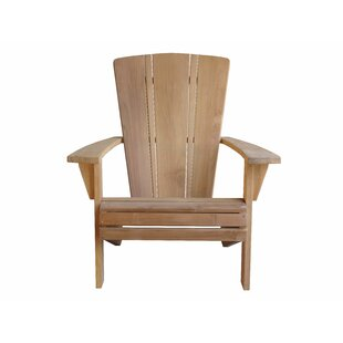 Brindley Santa Fe Teak Adirondack Chair