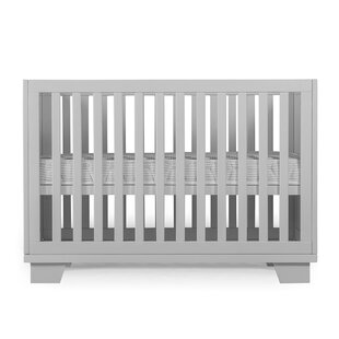 Oakley 2-In-1 Convertible Crib by Harriet Bee