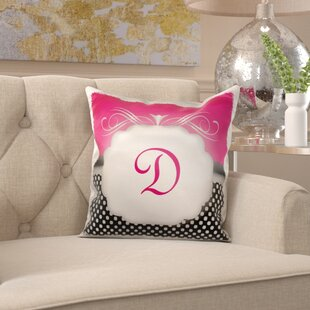 Monogram Letter Pillow Wayfair