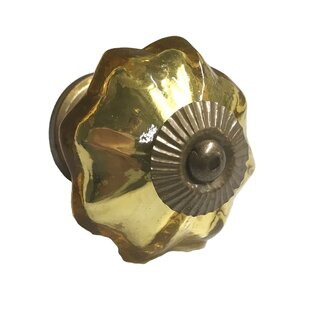 Mercury Glass Octagon Novelty Knob