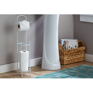 wayfair basics toilet paper holder with dispenser bar