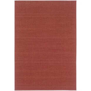 Whipple Red Indoor/Outdoor Area Rug