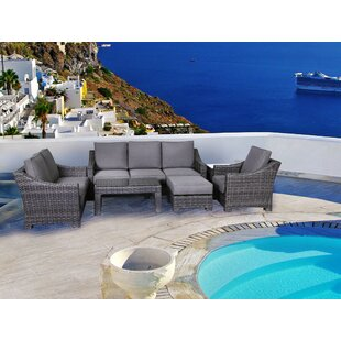 Donley 4 Piece Sofa Set With Cushions by Brayden Studio Reviews