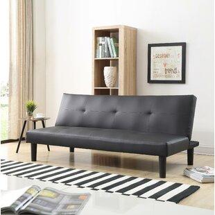 Peavy Click Clack Convertible Sofa Ebern Designs