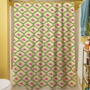 Butterfly Diamond Single Shower Curtain