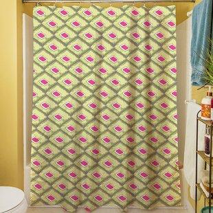Butterfly Diamond Single Shower Curtain