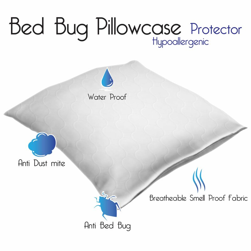 fb1539ad7d Remedy Bed Bug and Dust Mite Cotton Pillow Protector & Reviews | Wayfair