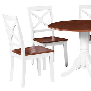 Troutt Solid Wood Dining Chair (Set of 2) August Grove