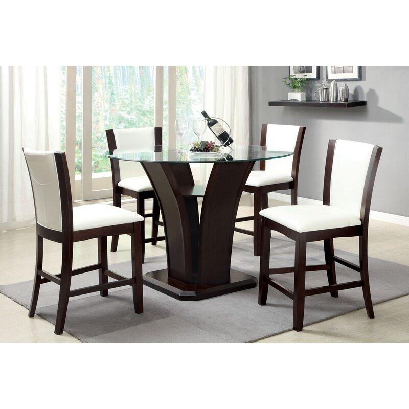 Hokku Designs Counter Height Dining Table Reviews Wayfair