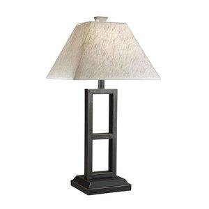 Deidra 27 Table Lamp with Empire Shade (Set of 2)