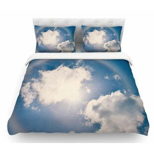 Halo by Robin Dickinson Featherweight Duvet Cover