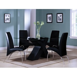 Angelica 5 Piece Dining Set by A&J Homes Studio