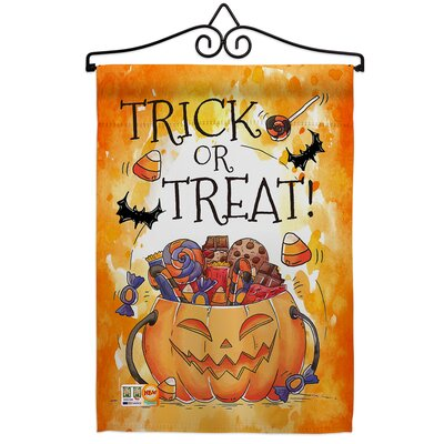 Yorkshire Scarecrow House Flag 2 Pcs Pack Fall Halloween Witch Trick Or Treat Spooky Night Black Cat Season Autumntime Pumpkin Banner Small Garden Yard Gift Double Sided Made In Usa 28 X 40 Sportspyder