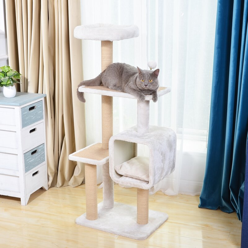 Grey cat scrub hat size Med 22\u201d