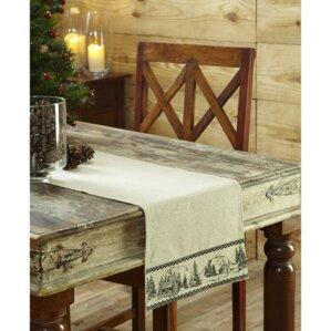Timberland Christmas Table Runner