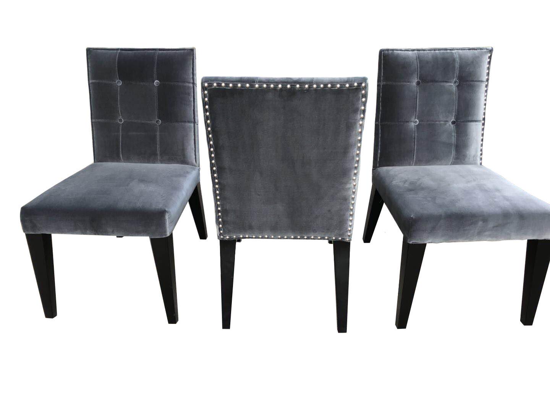 Everly Quinn Atlas Side Chair In Cream Leather Wayfair