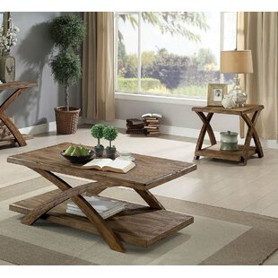 Alijah 3 Piece Coffee Table Set by Loon Peak