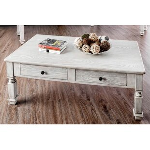 Thaxted Coffee Table with Storage by Alcott Hill