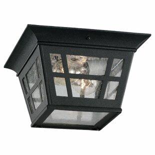 Laurel 2-Light Outdoor Flush Mount