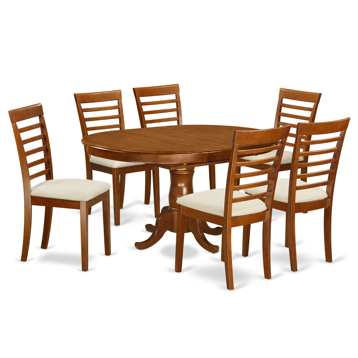 East West Portland 7 Piece Dining Set & Reviews