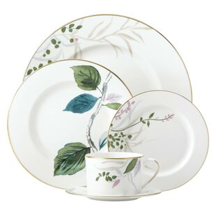 Birchway Bone China 5 Piece Place Setting Service for 1  sc 1 st  Birch Lane & Dinnerware Sets u0026 Place Settings | Birch Lane