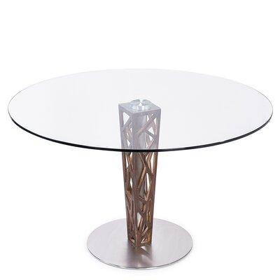 Orren Ellis Bonetti Glass Top Dining Table Wayfair
