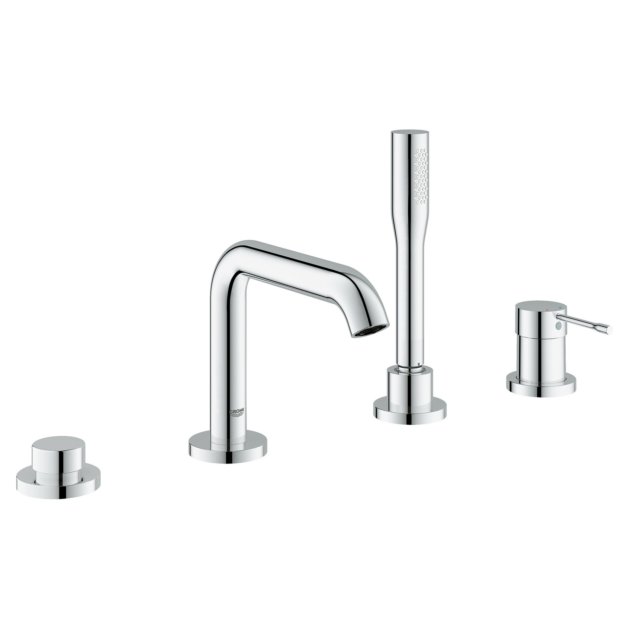 Grohe Essence New Single Handle Deck Mounted Tub Filler Trim with ...