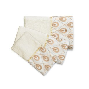 3 Piece 100% Cotton Towel Set