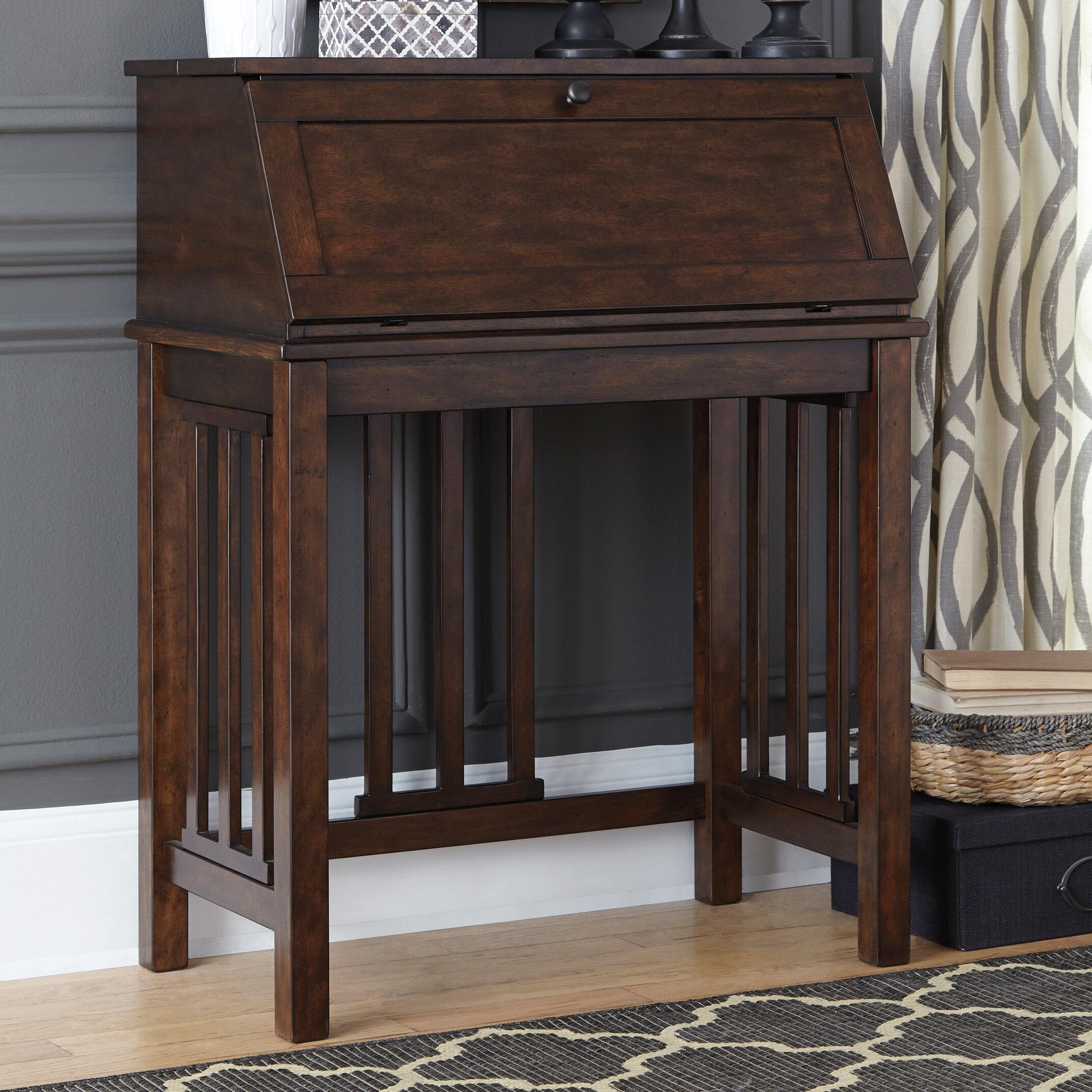 secretary double boyds bonnet furnishings top henredon desk walnut chippendale folio fine
