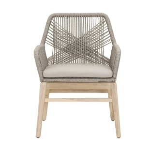 Arneson Weave Design Patio Dining Chair (Set of 2)