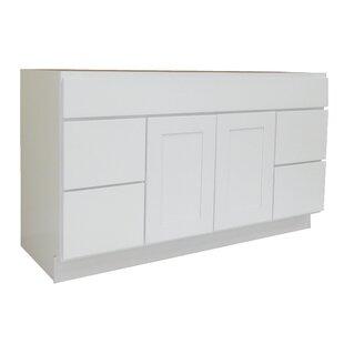 Shaker Cabinet 48 Single Bathroom Vanity Base Only ByNGY Stone & Cabinet