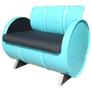Tucson Indoor/Outdoor Armchair by Drum Works Furniture