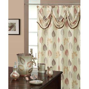 Spa Leaf Decorative Shower Curtain