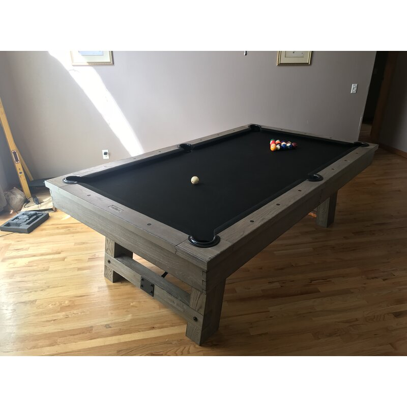 Plank Hide Isaac 7 Slate Pool Table With Professional Installation Included Wayfair