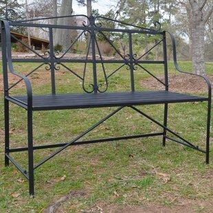 Amedori Metal Garden Bench