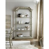 Lettore Alfresco 90.25'' H x 52'' W Etagere Bookcase by Hooker Furniture