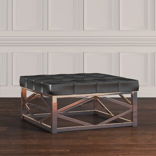 Gilham Faux Leather Ottoman