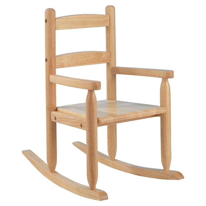 Merveilleux 2 Slat Kids Rocking Chair