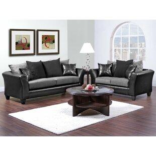 Platzer 2 Piece Living Room Set
