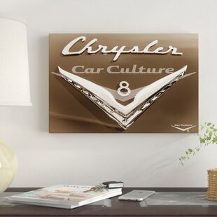 '1954 Chrysler New Yorker Ghia Coupe' Graphic Art Print on Canvas By East Urban Home