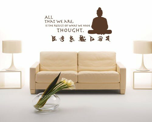 Buddha Quote Wall Decal